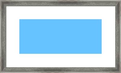 C.1.102-195-255.7x3 Framed Print by Gareth Lewis