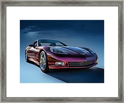 C6 Corvette Framed Print by Douglas Pittman