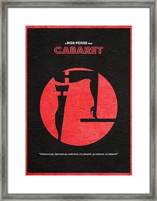 Cabaret Framed Print by Ayse Deniz