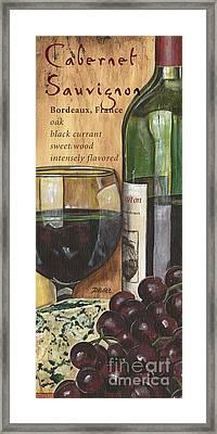 Cabernet Sauvignon Framed Print by Debbie DeWitt