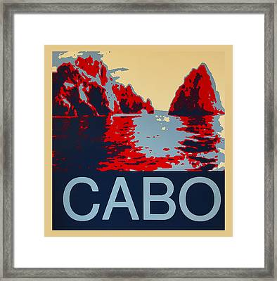 Cabo Framed Print by Barbara Snyder