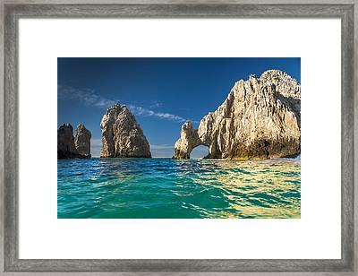 Cabo San Lucas Framed Print by Sebastian Musial