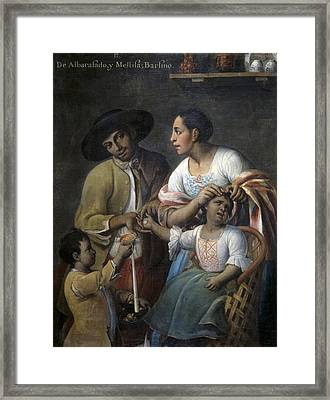Cabrera, Miguel 1695-1768. From Framed Print by Everett