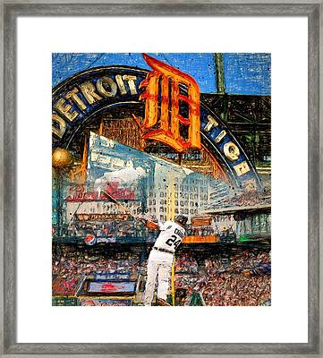 Cabrera Wall Of Awesome Framed Print by John Farr