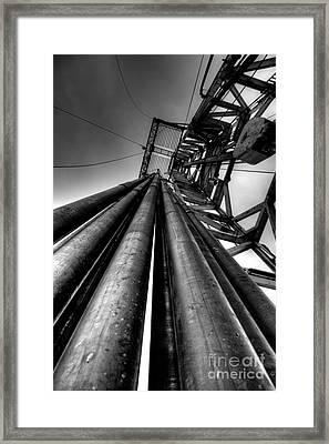 Cac001bw-14 Framed Print by Cooper Ross