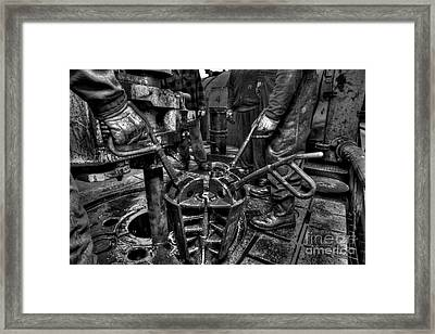 Cac001bw-19 Framed Print by Cooper Ross