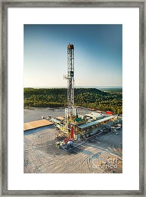 Cac004-19 Framed Print by Cooper Ross