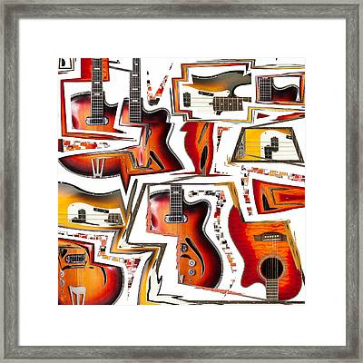 Cacophony Framed Print by Russell Pierce