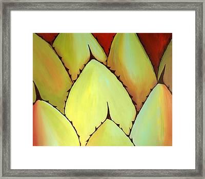 Cactus Close Up Framed Print by Karyn Robinson