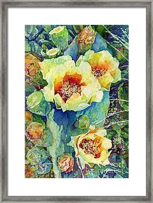 Cactus Splendor II Framed Print by Hailey E Herrera