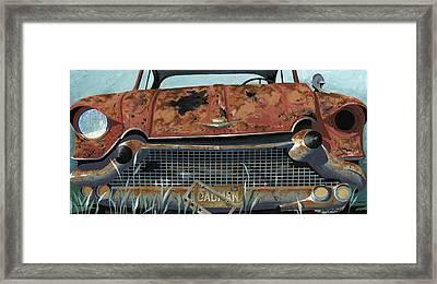 Cad Man Framed Print by John Wyckoff