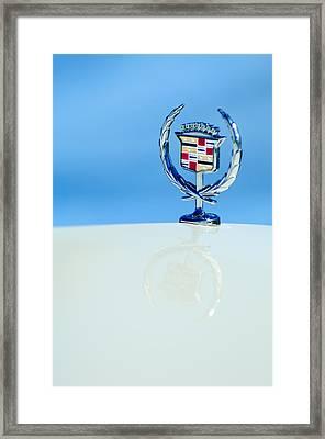 Cadillac Hood Ornament 4 Framed Print by Jill Reger