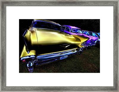Cadillacs Framed Print by David Patterson