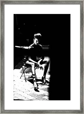 Caelitus Mihi Vires Framed Print by Maria  Lankina