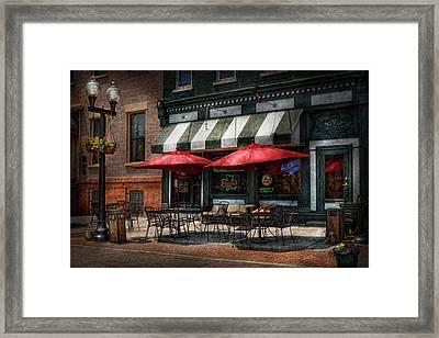 Cafe - Albany Ny - Mc Geary's Pub Framed Print by Mike Savad