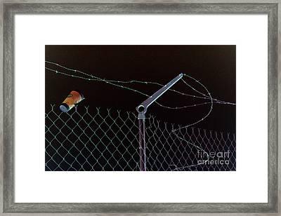 Caffeinated Jail Break Framed Print by Joe Jake Pratt