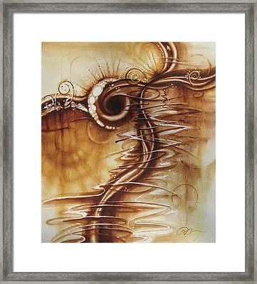 Caffeine Framed Print by Tracy Male