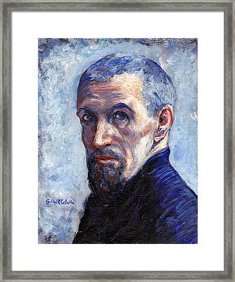 Caillebotte Framed Print by Tom Roderick