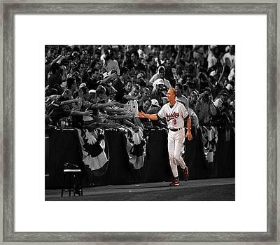 Cal Ripken Framed Print by Brian Reaves