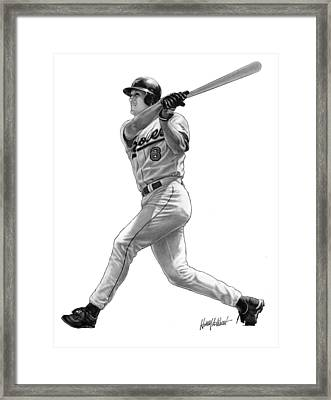 Cal Ripken Jr II Framed Print by Harry West