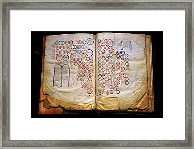 Calahorra Bible Framed Print by RicardMN Photography