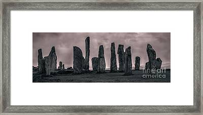 Calanais Framed Print by Matt  Trimble