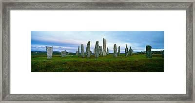 Calanais Standing Stones, Isle Framed Print by Panoramic Images