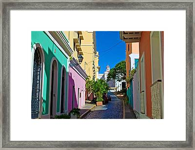 Caleta De San Juan 2 Framed Print by Ricardo J Ruiz de Porras