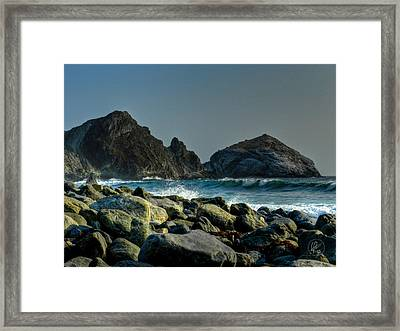 California - Big Sur 013 Framed Print by Lance Vaughn