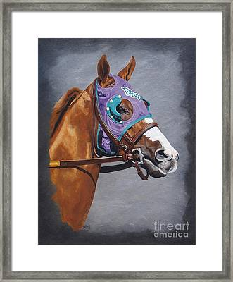 California Chrome W/nasal Strips Framed Print by Pat DeLong