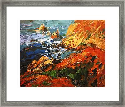 California Coast I Framed Print by Brian Simons