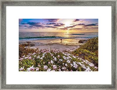 California Dreamin' Framed Print by Justin Lowery