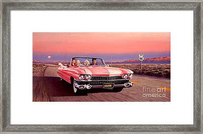 California Dreamin' Framed Print by Michael Swanson