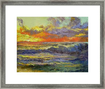 California Dreaming Framed Print by Michael Creese