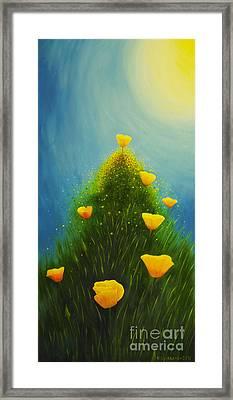 California Poppies Framed Print by Veikko Suikkanen