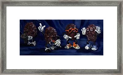 California Raisins Framed Print by Rick Liebenow
