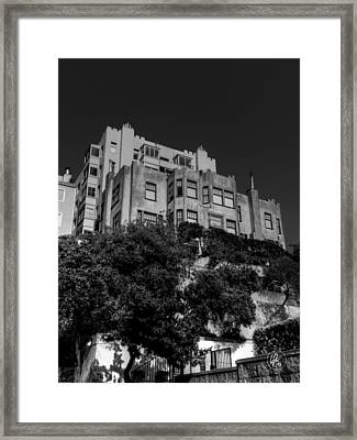 California - San Francisco 002 Framed Print by Lance Vaughn