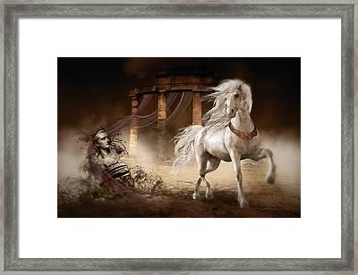 Caligula's Horse Framed Print by Shanina Conway