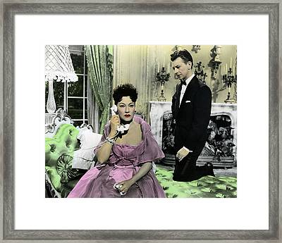 Call Me Madam  Framed Print by Silver Screen