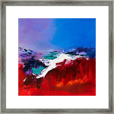 Call Of The Canyon Framed Print by Elise Palmigiani