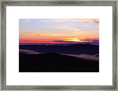 Call Of The Mountains Framed Print by Rachel Cohen