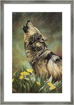 Call Of The Wild Framed Print by Lucie Bilodeau