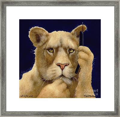 Call Of The Wild... Framed Print by Will Bullas