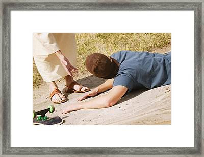 Call On Jesus Framed Print by Don Hammond