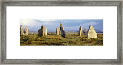Callanish Stones, Isle Of Lewis, Outer Framed Print by Panoramic Images
