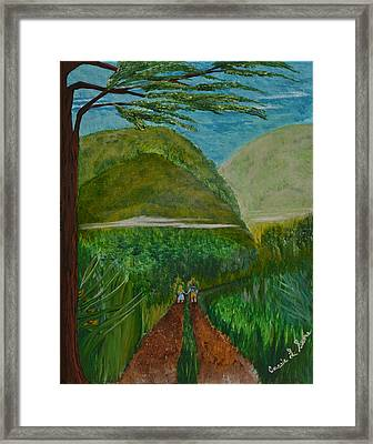 Called To The Mission Field Framed Print by Cassie Sears