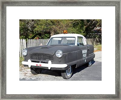 Calling All Cars Framed Print by Sheri McLeroy