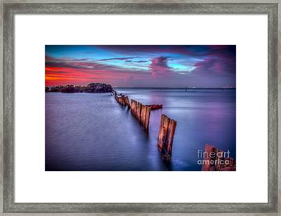 Calm Before The Storm Framed Print by Marvin Spates