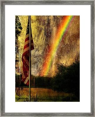 Calm  Framed Print by Justin Ivins