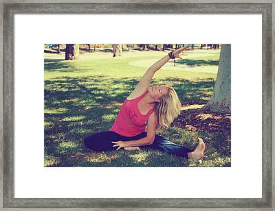 Calm Framed Print by Laurie Search